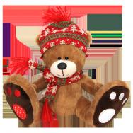 И17035 Медвежонок в шапочке