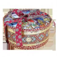 А19112 Коробка круглая с бантом и лентой