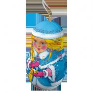 Ж191 Миниподарок Матрёшка Снегурочка
