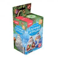Р2219 Игрушки-раскраски Дед Мороз и Снегурочка  3D Art