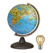Р21113 Глобус интерактивный зоогеографический с подсветкой