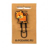 Р012 Скрепка Тигр