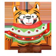 И22009 Тигр в свитере