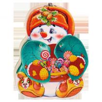 Ж22064 Снеговик с раздвижной гармошкой